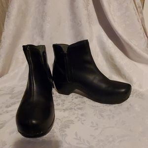 Dansko Black Booties Nice!